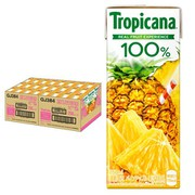 トロピカーナ 100% パインアップル パックジュース 250mL [24本]