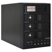 "CRCH2535U3IS [裸族のカプセルホテルin2.5 独立電源スイッチ搭載 USB3.0接続 2.5""×2 3.5""×3 SATA HDDケース]"