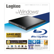 LBD-PUD6U3LBK [Blu-rayディスクドライブ USB3.0 スリム 書込みソフト付 ブラック]