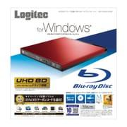LBD-PUD6U3LRD [Blu-rayディスクドライブ USB3.0 スリム 書込みソフト付 レッド]