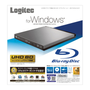 LBD-PUD6U3LGY [Blu-rayディスクドライブ USB3.0 スリム 書込みソフト付 グレー]