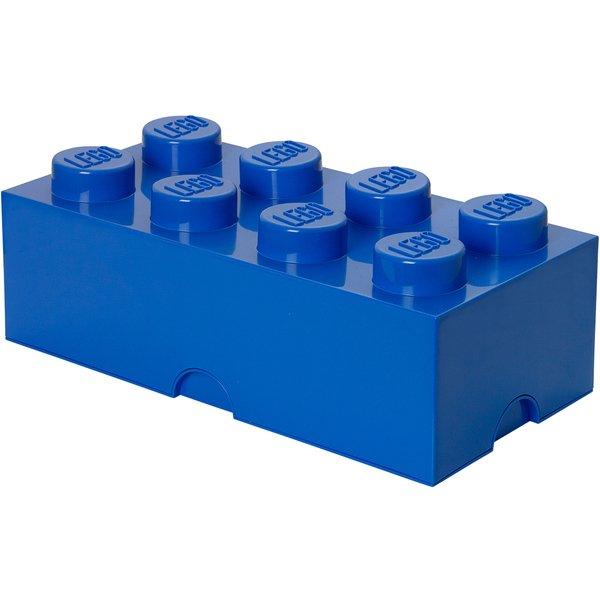レゴ ストレージボックス ブリック 8 ブライトブルー [キャラクターグッズ]