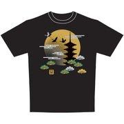 日本Tシャツ 五重塔 M