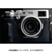 HG-X100FNV [富士フイルム X100F用カメラハーフケース ネイビー]