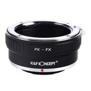 KF-PKX [一眼レフカメラ用 レンズマウントアダプター ブラック ボディ側:富士フイルムX レンズ側: ペンタックスK]