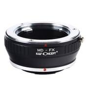 KF-SRX [一眼レフカメラ用 レンズマウントアダプター ブラック ボディ側:富士フイルムX レンズ側:ミノルタMD・MC│SR]
