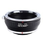 KF-EFX [一眼レフカメラ用 レンズマウントアダプター ブラック ボディ側:富士フイルムX レンズ側:キヤノンEF]
