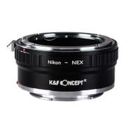 KF-NFE2 [一眼レフカメラ用 レンズマウントアダプター ブラック ボディ側:ソニーE レンズ側:ニコンF]