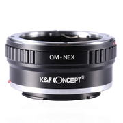 KF-OME [一眼レフカメラ用 レンズマウントアダプター ブラック ボディ側:ソニーE レンズ側:オリンパスOM]