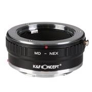 KF-SRE2 [一眼レフカメラ用 レンズマウントアダプター ブラック ボディ側:ソニーE レンズ側:ミノルタMD・MC│SR]