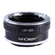 KF-LRE [一眼レフカメラ用 レンズマウントアダプター ブラック ボディ側:ソニーE レンズ側:ライカR]