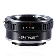 KF-CYE [一眼レフカメラ用 レンズマウントアダプター ブラック ボディ側:ソニーE レンズ側:ヤシカ・コンタックス]