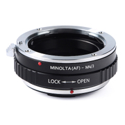 KF-AAM43 [一眼レフカメラ用 レンズマウントアダプター ブラック ボディ側:マイクロフォーサーズ レンズ側:ソニー(ミノルタ)A]