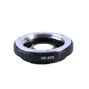 KF-SREF [一眼レフカメラ用 レンズマウントアダプター ブラック ボディ側:キヤノンEF レンズ側:ミノルタMD・MC│SR]