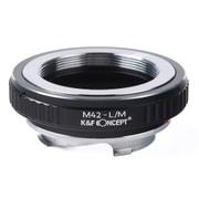 KF-42M [一眼レフカメラ用 レンズマウントアダプター ブラック ボディ側:ライカM レンズ側:M42]