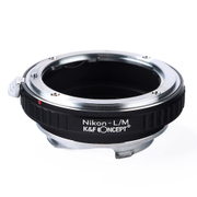 KF-NFM [一眼レフカメラ用 レンズマウントアダプター ブラック ボディ側:ライカM レンズ側:ニコンF]