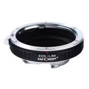 KF-EFM [一眼レフカメラ用 レンズマウントアダプター ブラック ボディ側:ライカM レンズ側:キヤノンEF]