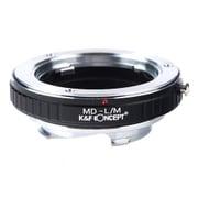 KF-SRM [一眼レフカメラ用 レンズマウントアダプター ブラック ボディ側:ライカM レンズ側:ミノルタMD・MC│SR]
