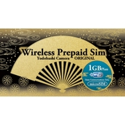 YD-PRI-1G-micro [WIRELESS GATE WiFi+LTE プリペイド1Gプラン 下り最大150Mbps データ通信量1GB ヨドバシカメラオリジナル microSIM]