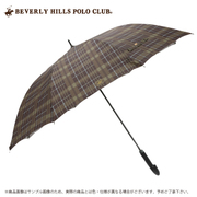 17BHPC-CK-70A [BEVERLY HILLS POLO CLUB 長傘 70cm ブラウン]