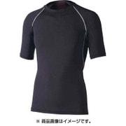 JW628BKLL [冷感・消臭パワー ストレッチ半袖クルーネックシャツ ブラック LLサイズ]