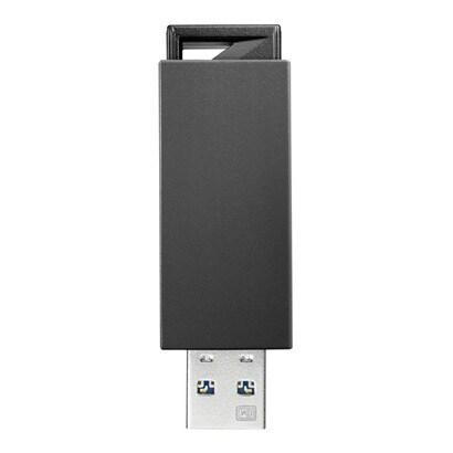 U3-PSH8G/K [USB 3.0 2.0対応 ノック式USBメモリー 8GB ブラック]