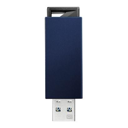 U3-PSH16G/B [USB 3.0 2.0対応 ノック式USBメモリー 16GB ブルー]