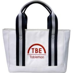 T-TTBG [ゴルフトートバック ホワイト×ネイビー]