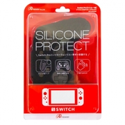 ANS-SW029BK [Nintendo Switch Proコントローラ用 シリコンプロテクト ブラック]