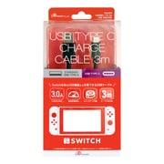 ANS-SW012BK [Nintendo Switch用 USB充電ケーブル TYPE-C 3m]