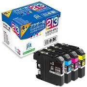 JIT-B2134P [ブラザー LC213-4PK 互換リサイクルインクカートリッジ]