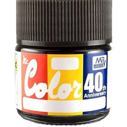 Mr.カラー 40th Anniversary シリーズ No.01 グラファイトブラック GRAPHITE BLACK [プラモデル用塗料 10ml 2020年12月再販売]