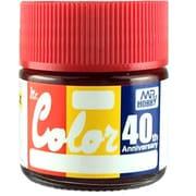 Mr.カラー 40th Anniversary シリーズ No.03 クランベリーレッドパール CRANBERRY RED PEARL [プラモデル用塗料 10ml]