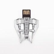 016607R [スターウォーズ スノースピーダー USBメモリー シルバー]