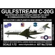 ガルフストリーム C-20G アメリカ海軍 「ハイビジ」 [1/72 フルレジン製組み立てキット]
