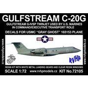 ガルフストリーム C-20G アメリカ海兵隊 「グレーゴースト」 [1/72 フルレジン製組み立てキット]