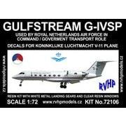 ガルフストリーム G-ⅣSP オランダ空軍 「V-11」 [1/72 フルレジン製組み立てキット]