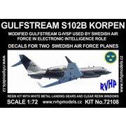 ガルフストリーム S102B 「コルペン」 スウェーデン空軍 [1/72 フルレジン製組み立てキット]