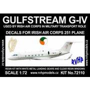 ガルフストリーム G-IV アイルランド空軍 「251」 [1/72 フルレジン製組み立てキット]