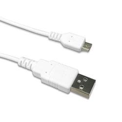 RK-ABB10W [2.4A対応 microUSB Cable 1.0m ホワイト]