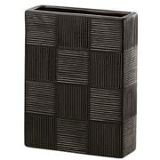 ICHIMATSU(イチマツ) BLACK(ブラック) 14L×5.5W×18H [花瓶]