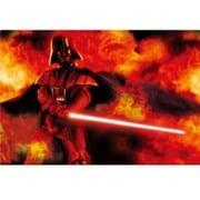 STAR WARS Darth Vader on Fire [3Dポストカード]