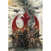 STAR WARS-009 ROGUE ONE - REBEL ALLIANCE [3Dポストカード]