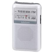 RAD-P122N-W [AM/FMポケットラジオ ワイドFM対応 ホワイト]