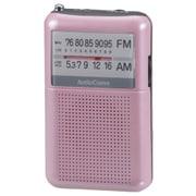 RAD-P122N-P [AM/FMポケットラジオ ワイドFM対応 ピンク]