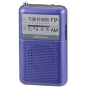 RAD-P122N-A [AM/FMポケットラジオ ワイドFM対応 ブルー]