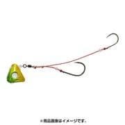紅牙遊動テンヤ+SS 3 緑/金