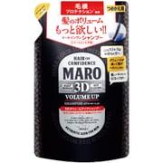MARO 3DボリュームアップシャンプーEX 380ml ジェントルミントの香り 詰替 [ヘアシャンプー 男性用]