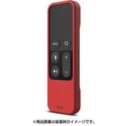 EL_ATVCSSCR1_RD [elago(エラゴ) R1INTELLI(シリコンケース リモコンストラップ付) for AppleTV第4世代 Red(レッド)]