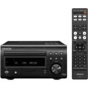 RCD-M41K [ディスクリートアンプ搭載 Bluetooth対応 CDレシーバー ワイドFM対応 ブラック]